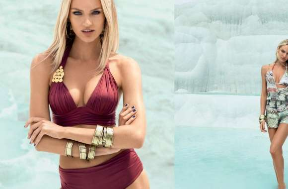 Candice Swanepoel Swimsuit 2013 wallpapers hd quality