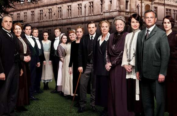 Downton Abbey TV Series Cast