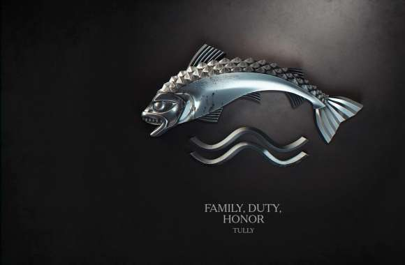Game of Thrones Family, Duty, Honor, Tully