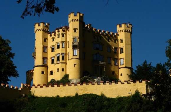 Hohenschwangau Castle wallpapers hd quality