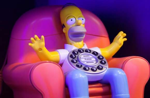 Homer Calls Home wallpapers hd quality