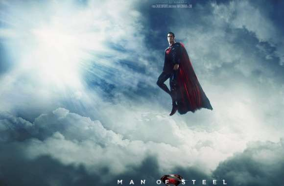 Man Of Steel Wallpaper by Visuasys