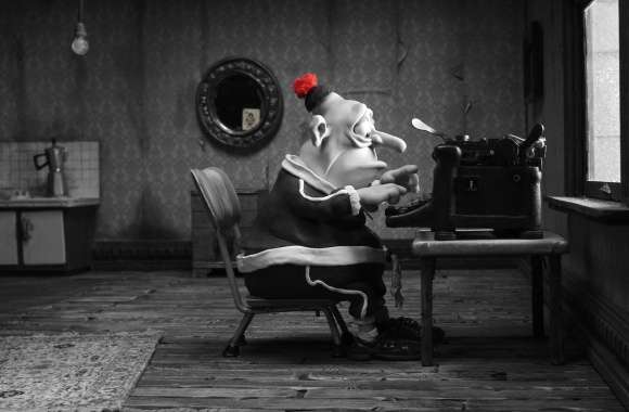 Mary And Max Man Typing