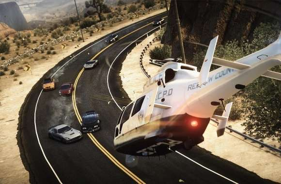 Need For Speed Rivals Helicopter Inbound