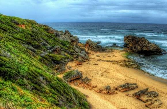 Small Beach, HDR