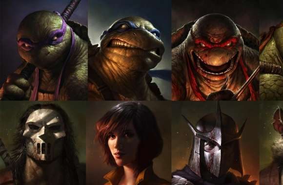 Teenage Mutant Ninja Turtles 2012 Art