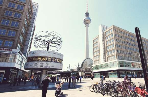 Television Tower Berlin wallpapers hd quality