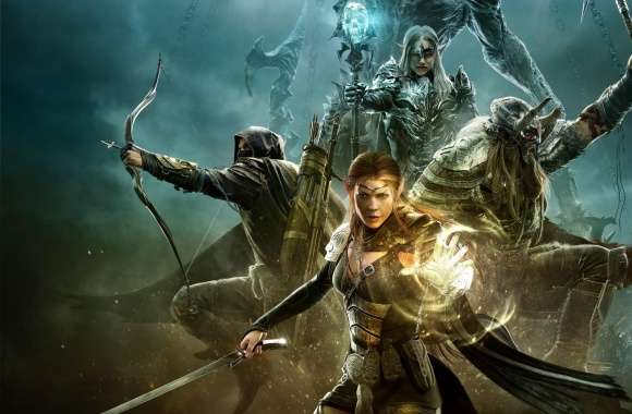 The Elder Scrolls Online Warriors Game Art wallpapers hd quality