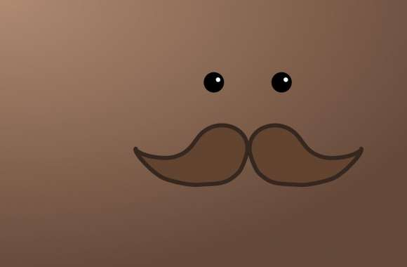 The Mysterious Moustache Man wallpapers hd quality