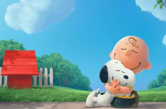 The Peanuts Snoopy and Charlie 2015 Movie