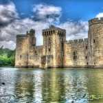 Bodiam Castle desktop wallpaper