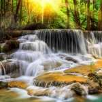Erawan Waterfall hd