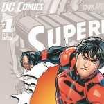 Superboy Comics desktop wallpaper