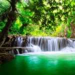 Erawan Waterfall wallpapers for iphone