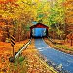 Covered Bridge high definition wallpapers