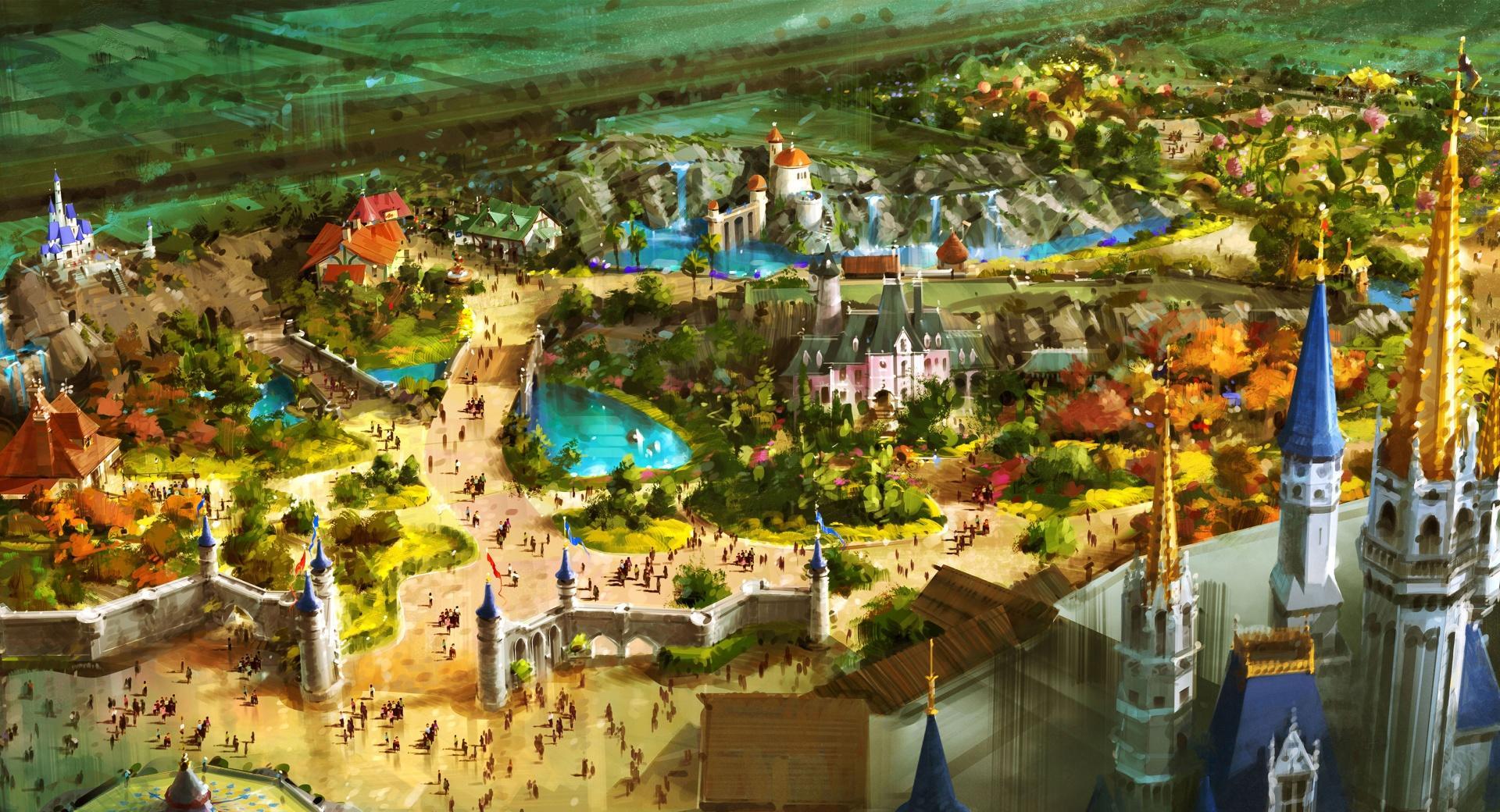 Above Fantasyland wallpapers HD quality