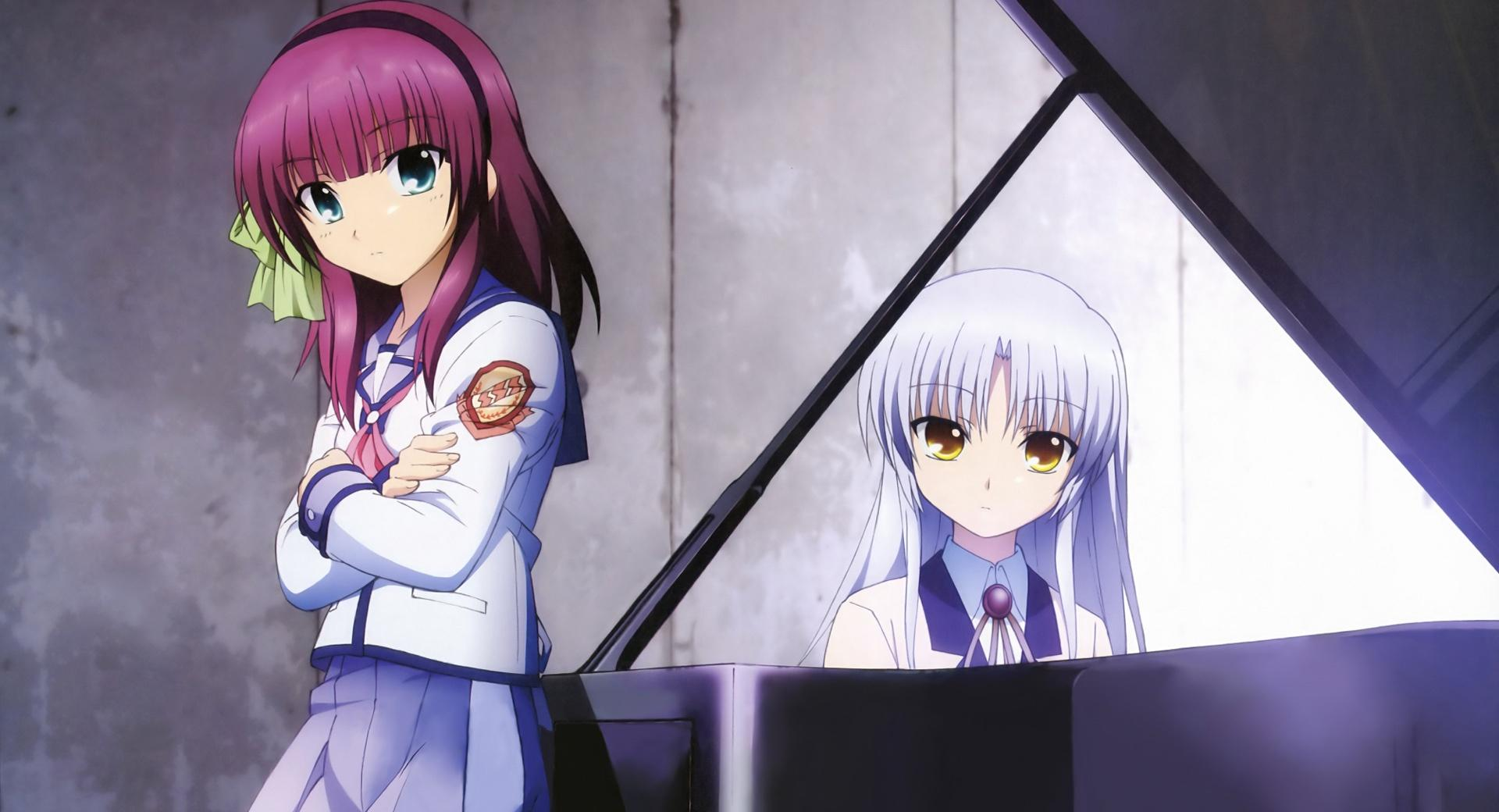Angel Beats - Yuri And Angel wallpapers HD quality