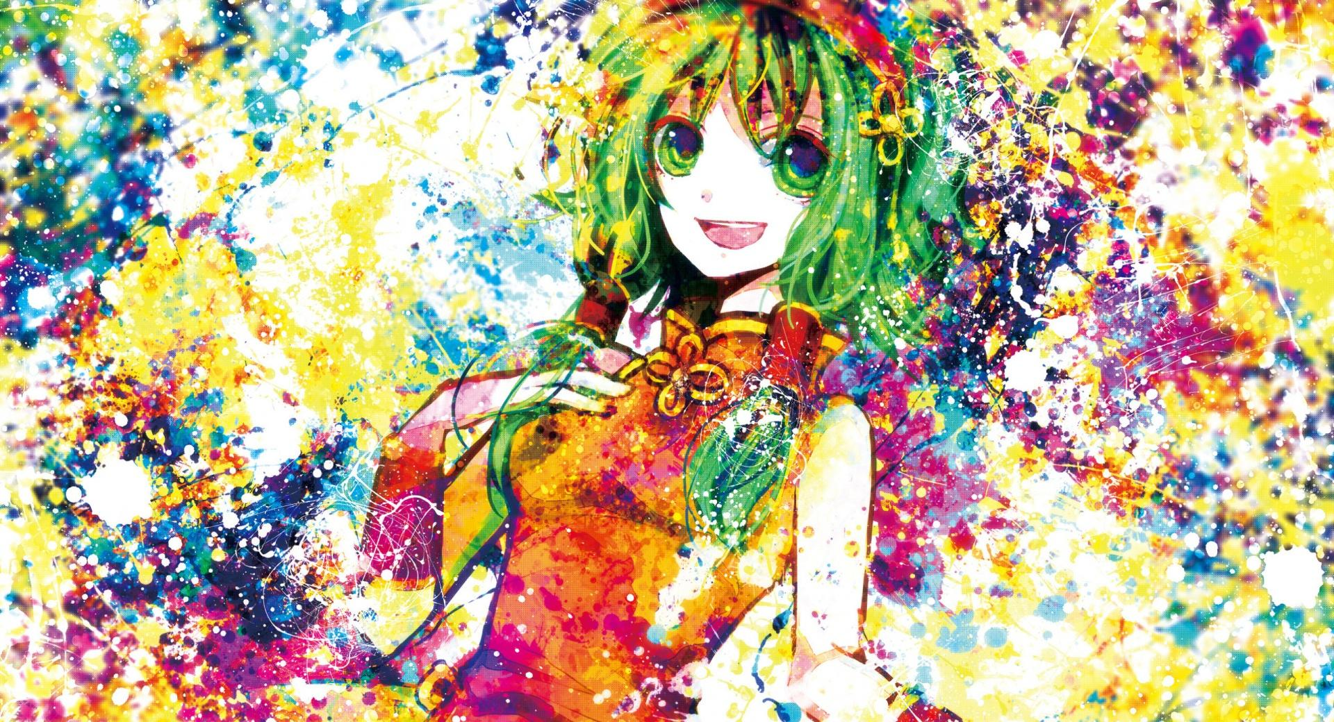 Anime Girl Colorful wallpapers HD quality