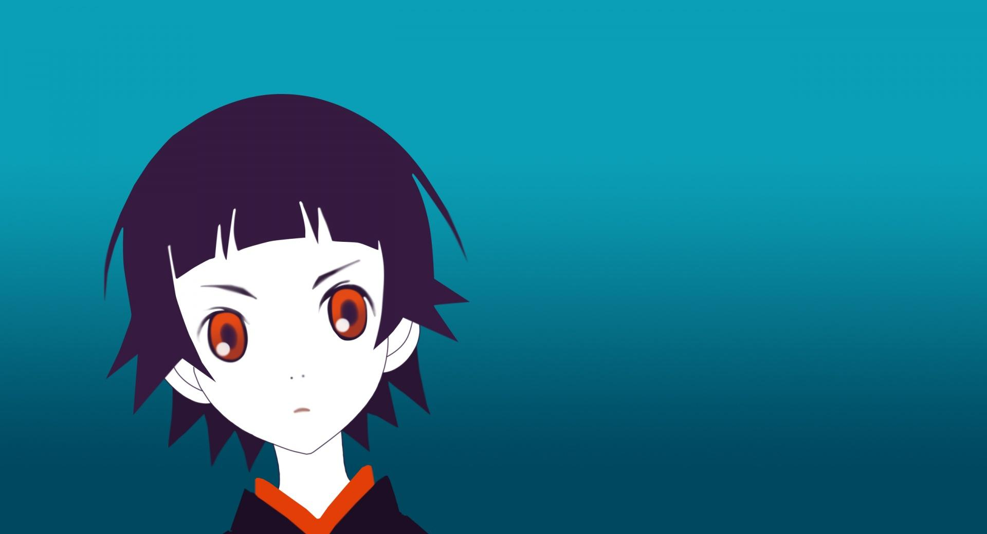 Anime Girl With Red Eyes wallpapers HD quality