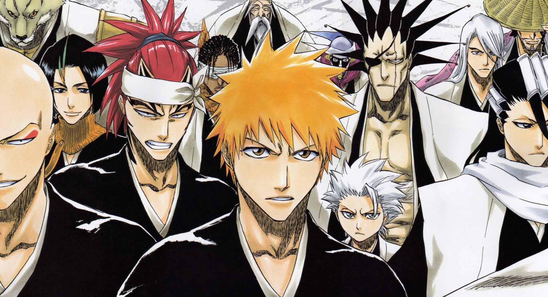 Bleach - Soul Society wallpapers HD quality