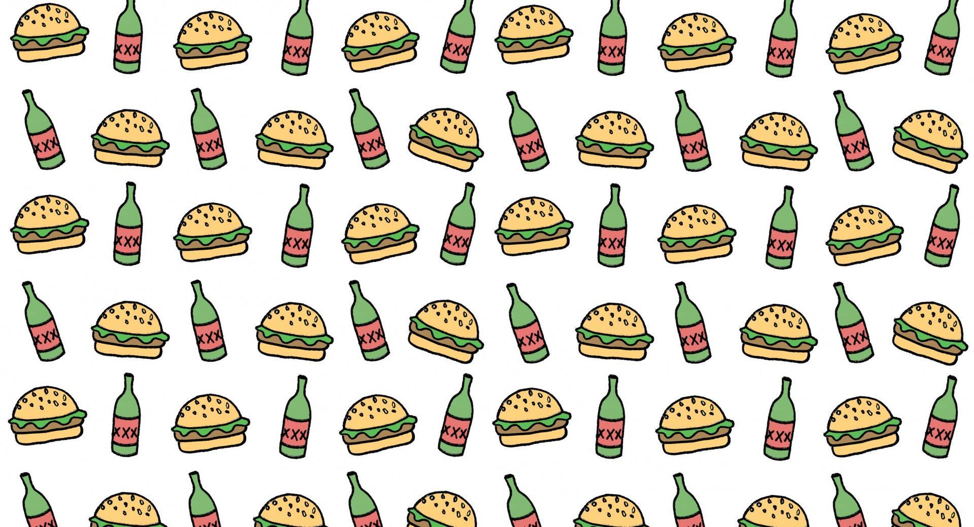 Burgers N Beers wallpapers HD quality