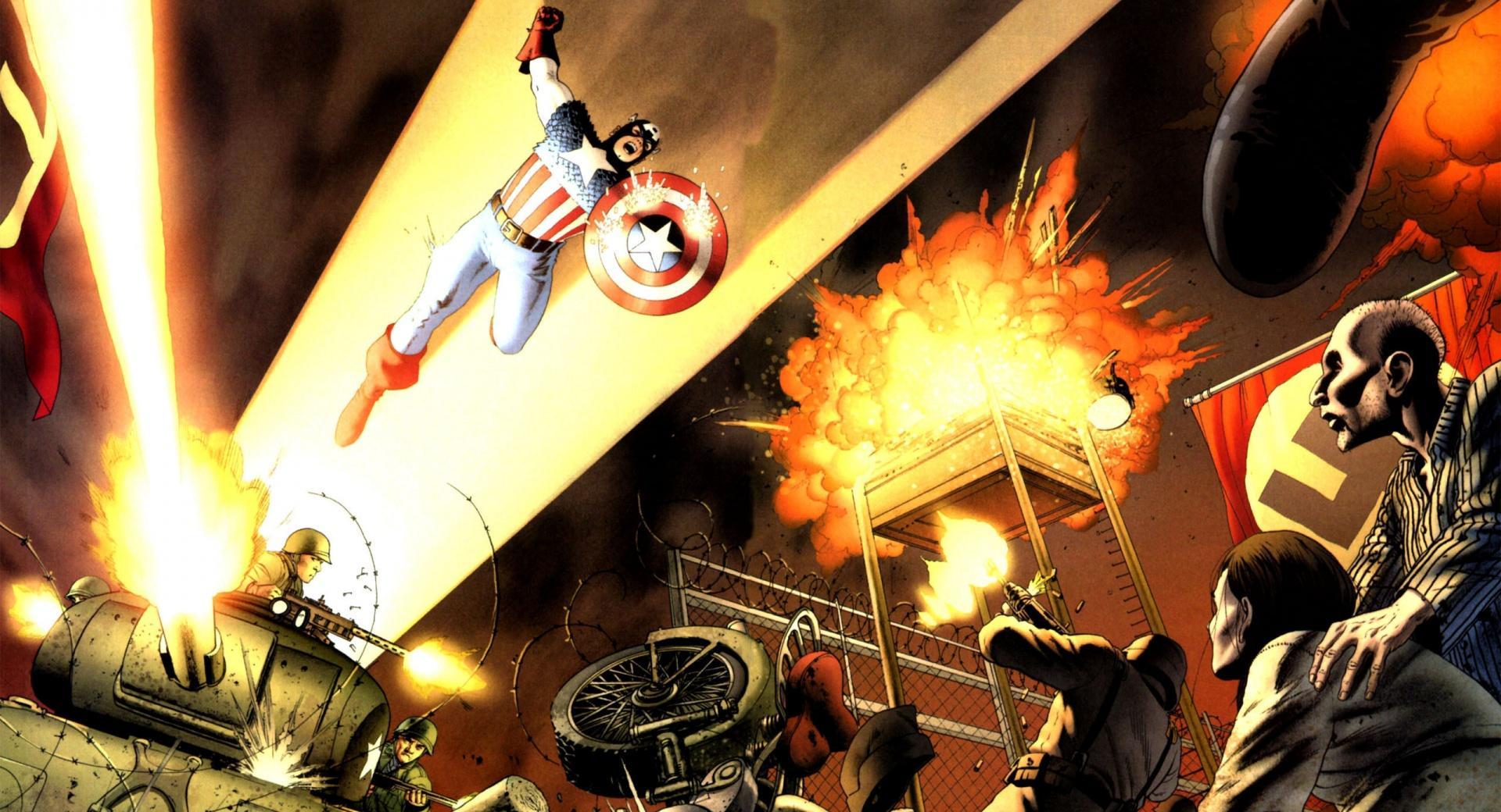 Captain America Comics wallpapers HD quality