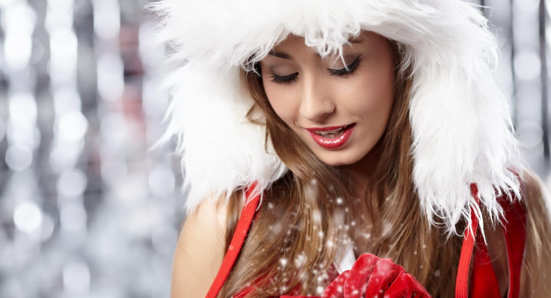 Christmas Girl wallpapers HD quality