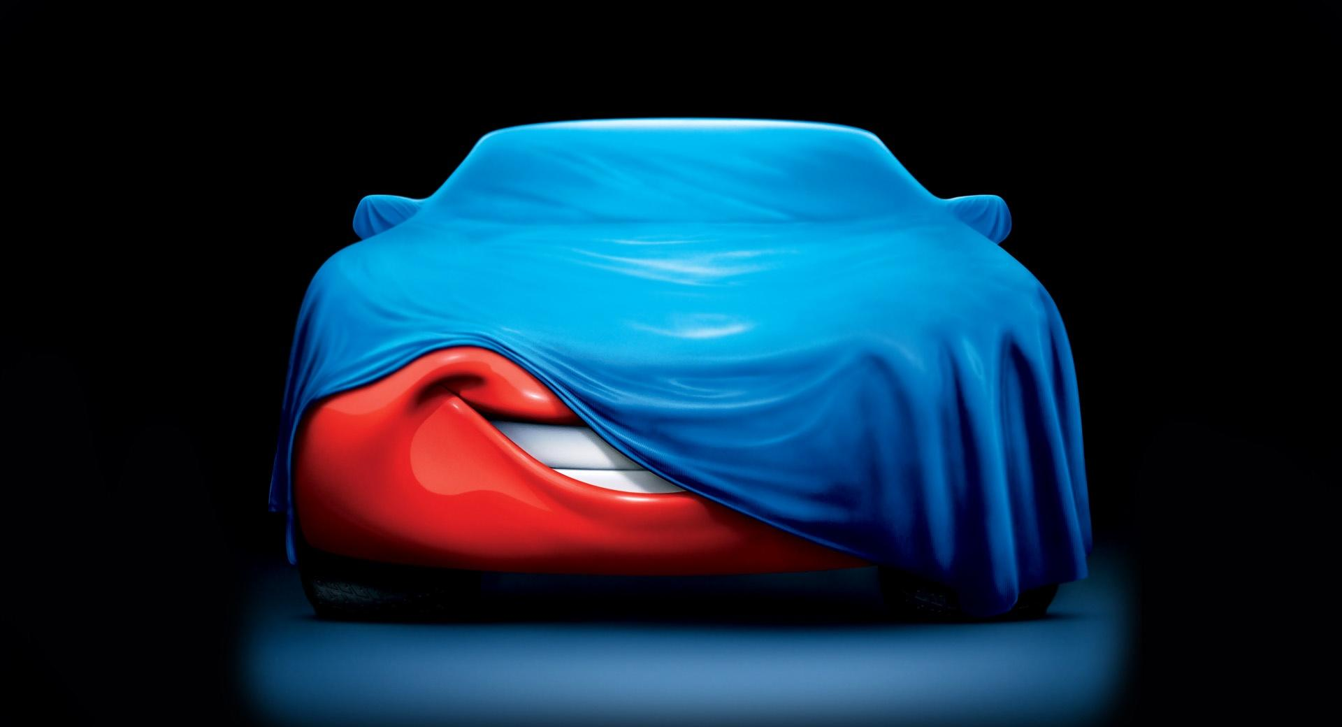 Covered Mcqueen Cars Movie at 2048 x 2048 iPad size wallpapers HD quality