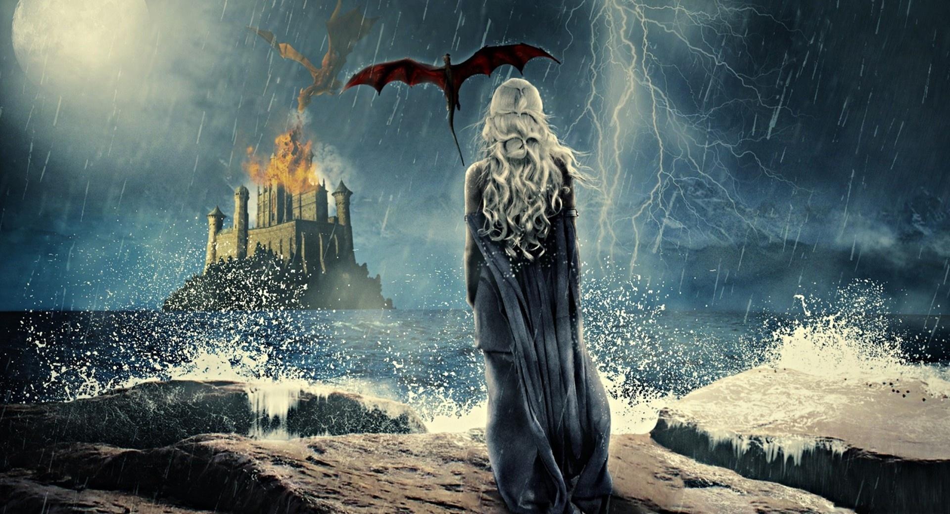 Daenerys Targaryen Painting wallpapers HD quality
