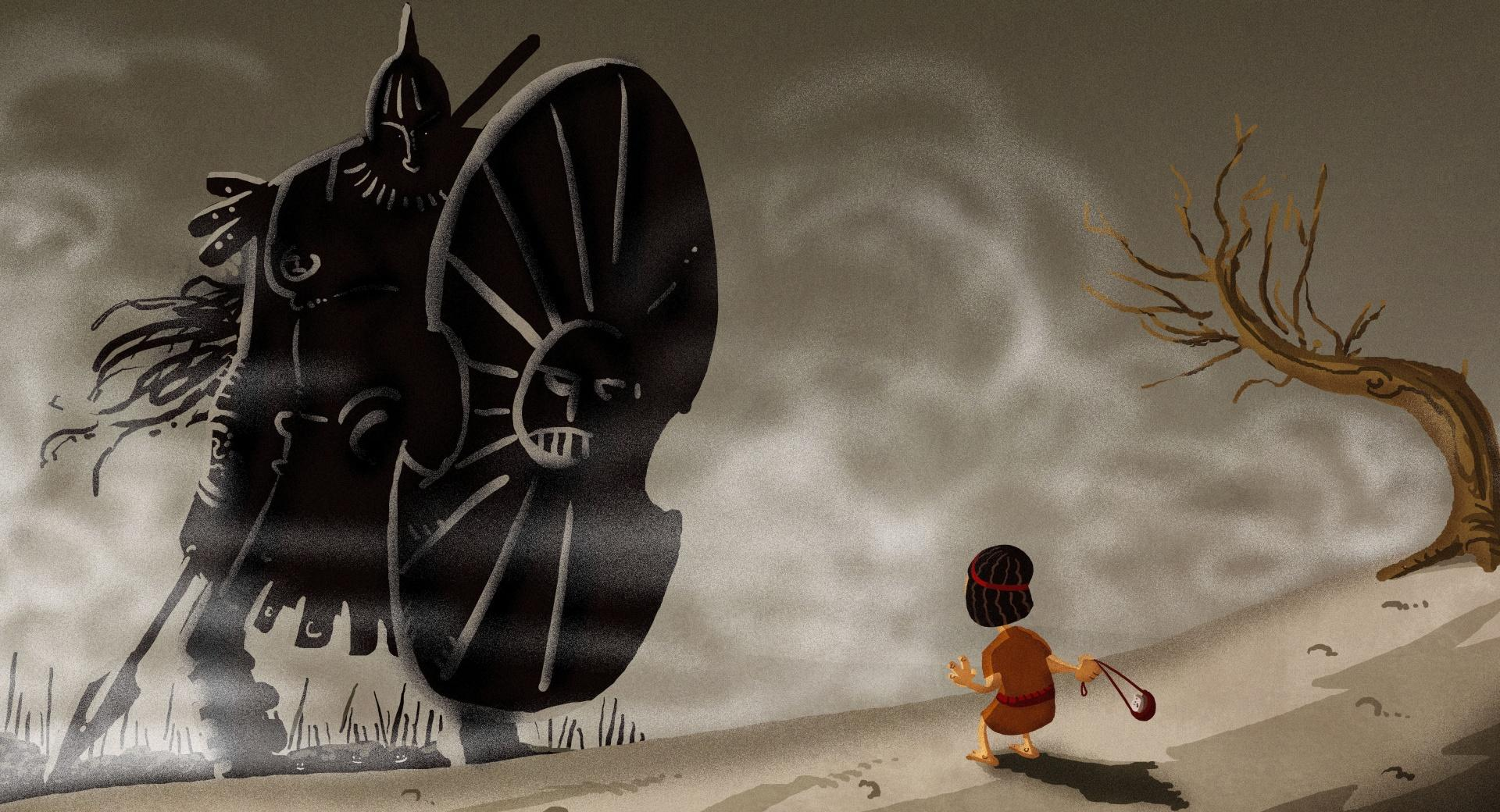 David And Goliath wallpapers HD quality