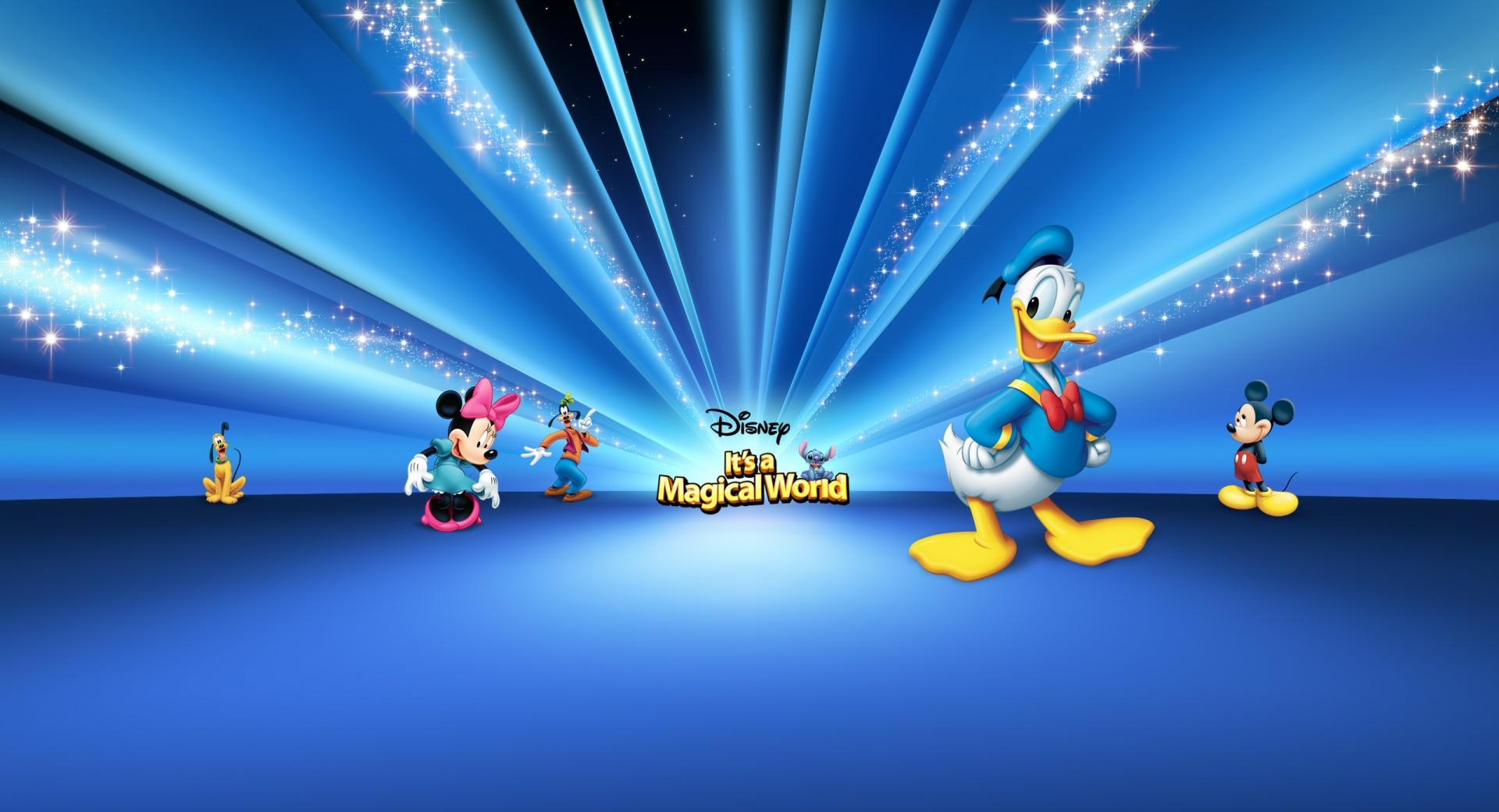 Disney Characters Blue wallpapers HD quality