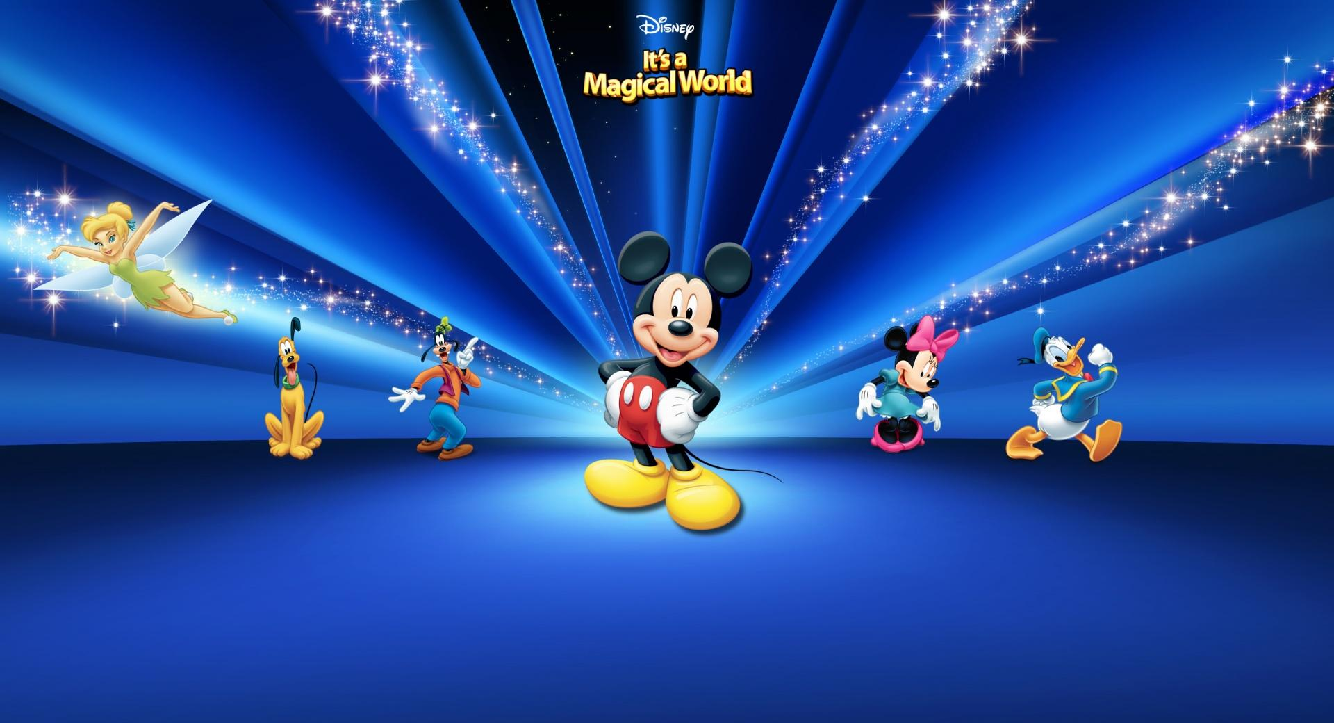 Disney Characters Dark Blue wallpapers HD quality