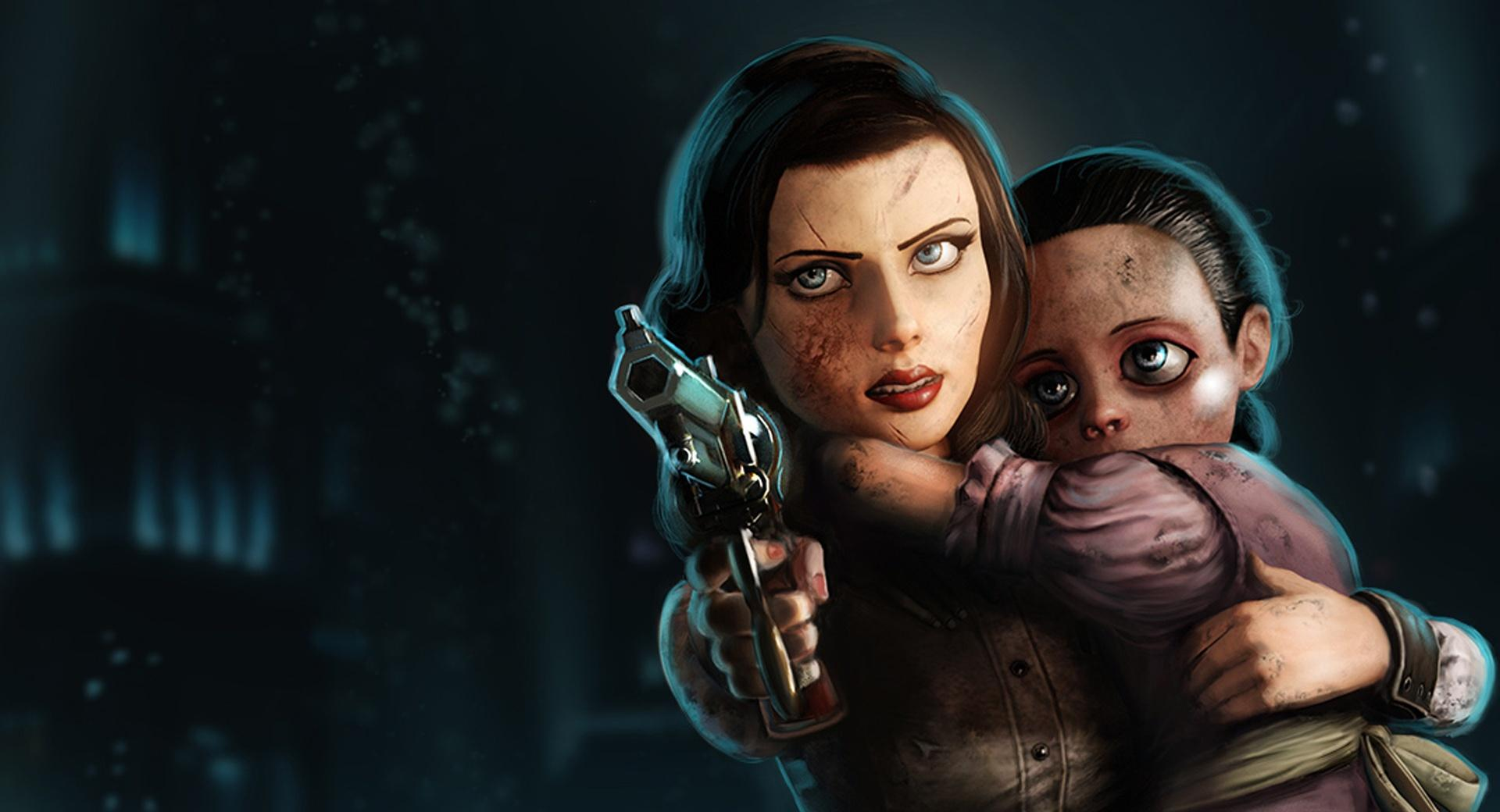 Elizabeth Bioshock Infinite Burial At Sea at 2048 x 2048 iPad size wallpapers HD quality