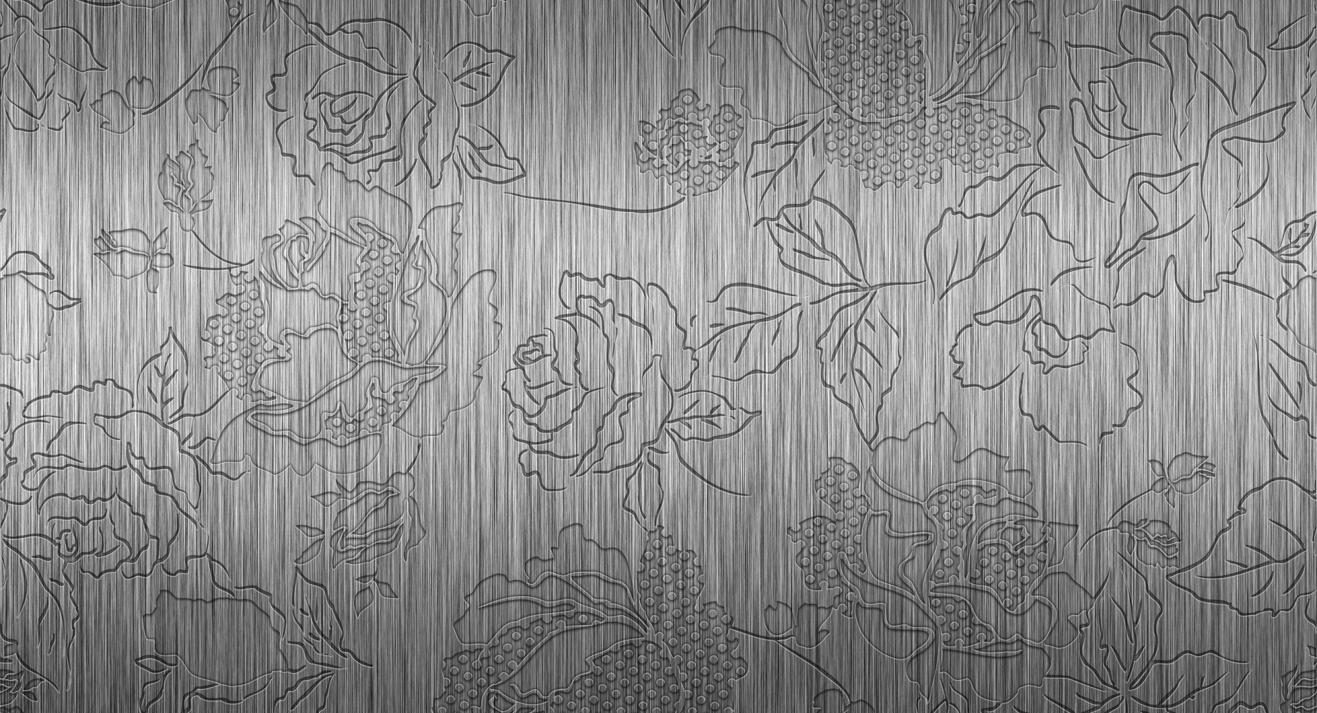Embossed Rose Pattern wallpapers HD quality