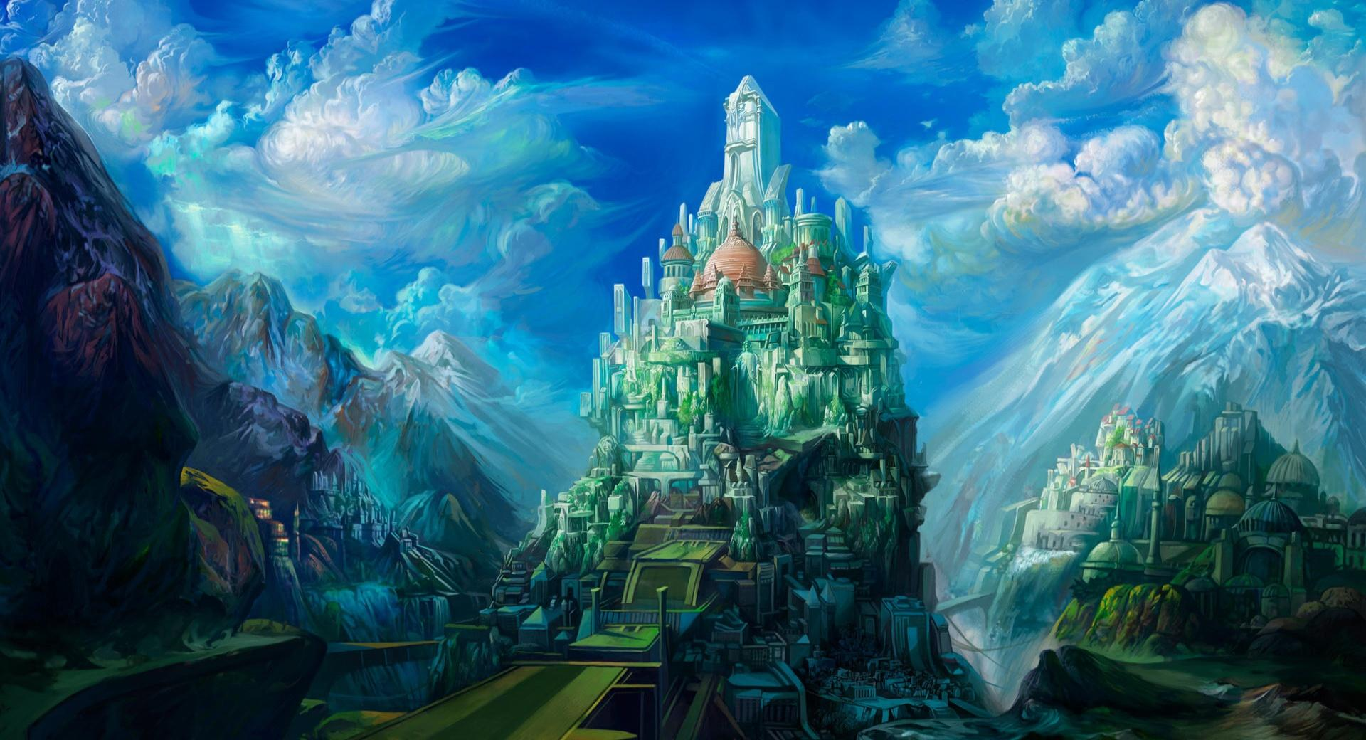Fantasy Art Scenery by Chen Wei wallpapers HD quality