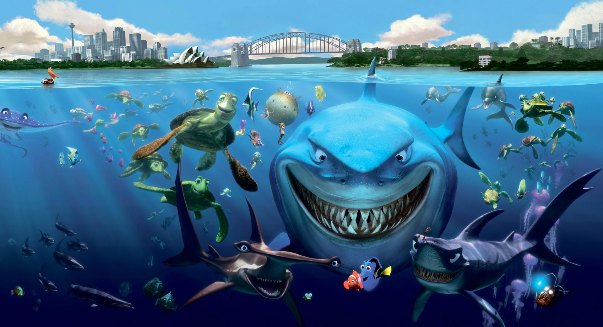 Finding Nemo Cast wallpapers HD quality