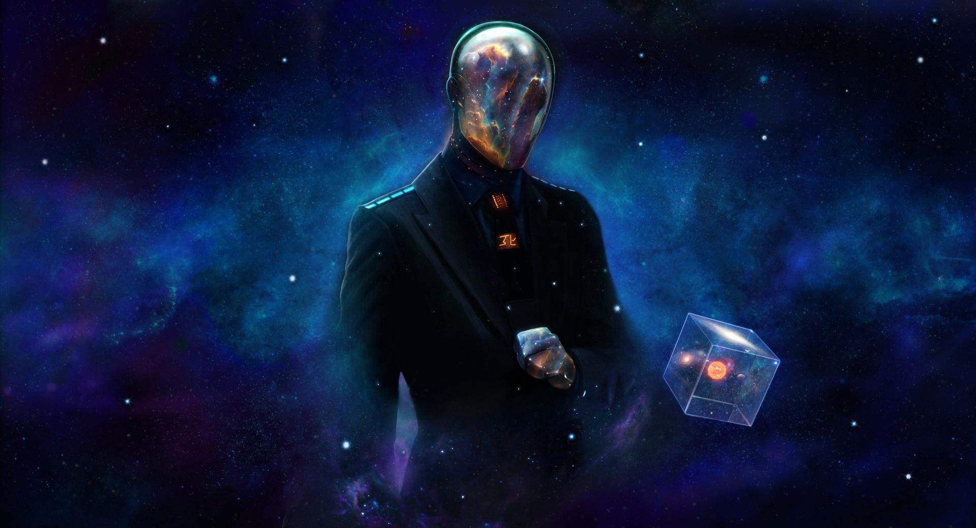 Galaxy Man at 1600 x 1200 size wallpapers HD quality