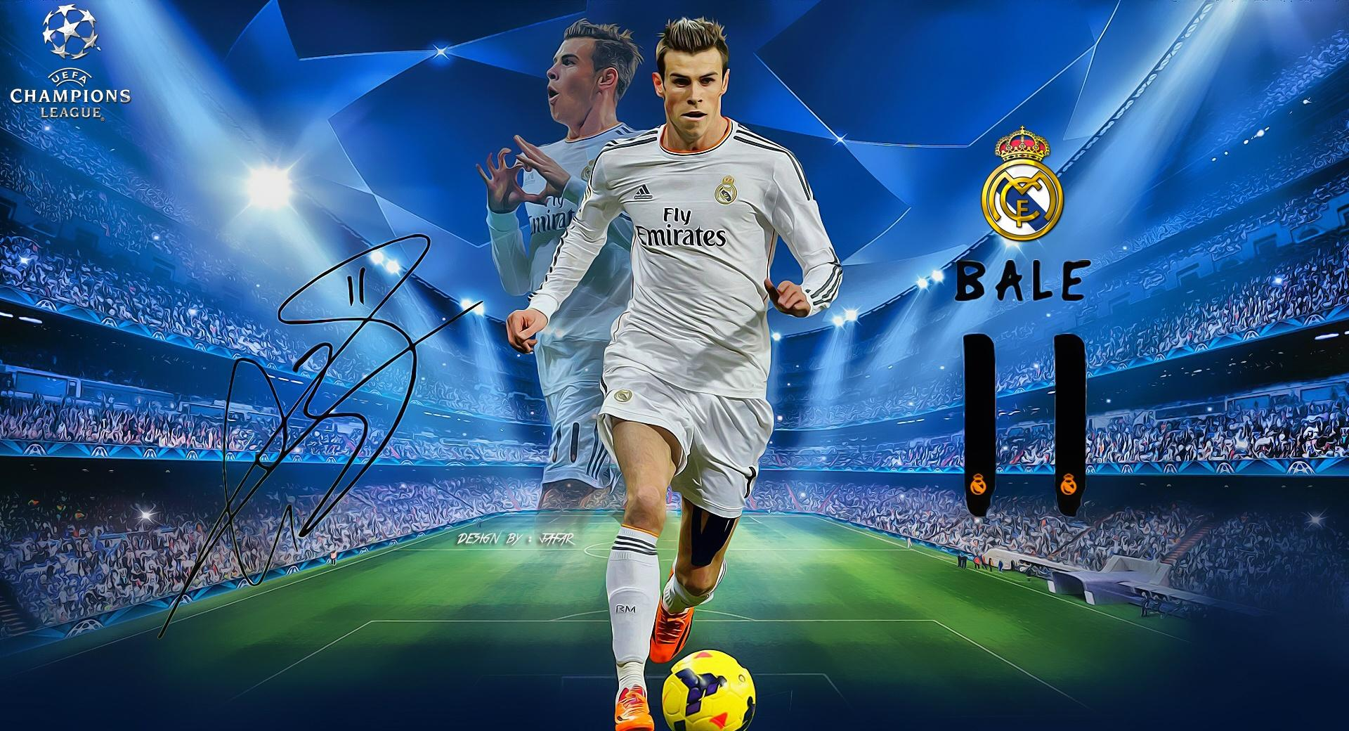 Gareth Bale Champions League wallpapers HD quality