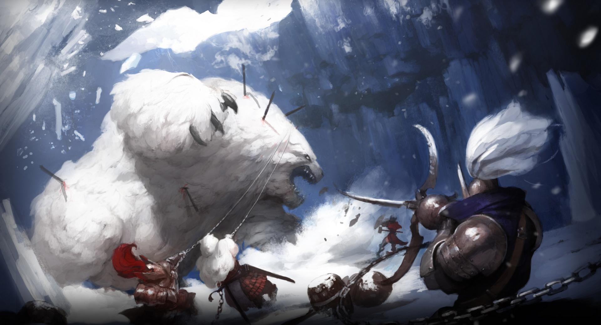 Giant Polar Animal wallpapers HD quality