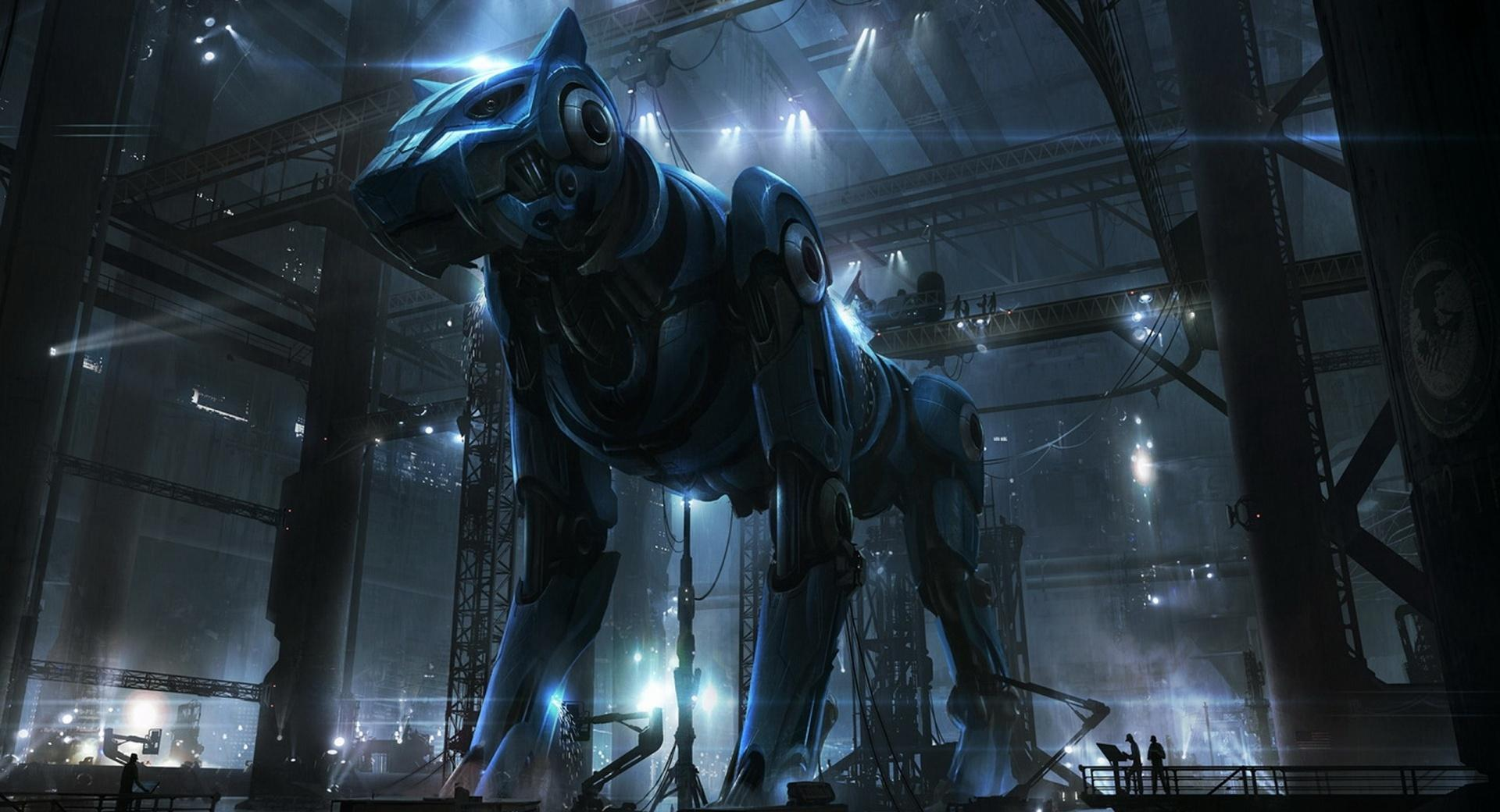 Giant Robot Dog wallpapers HD quality