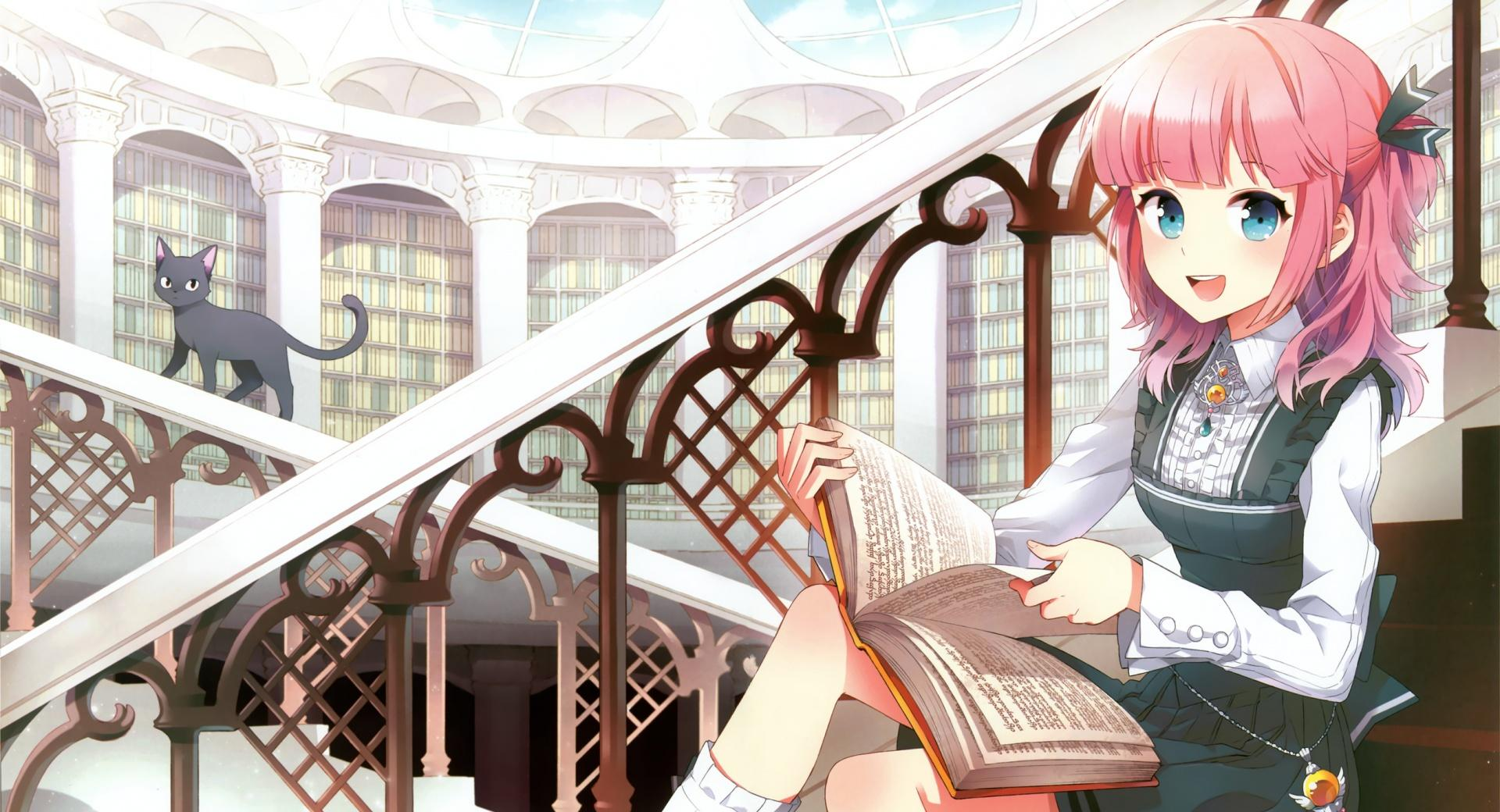 Girl Reading wallpapers HD quality