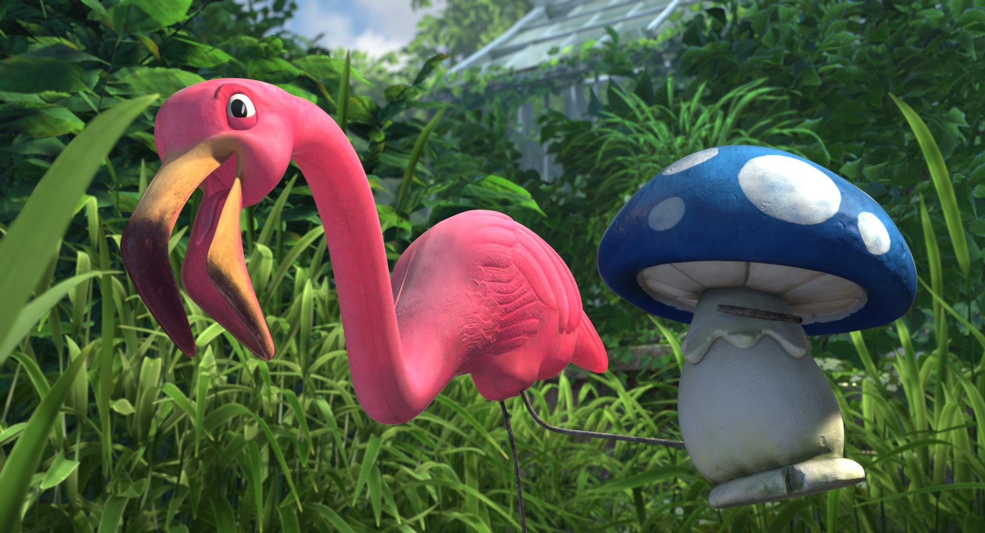 Gnomeo and Juliet - Featherstone And Shroom wallpapers HD quality
