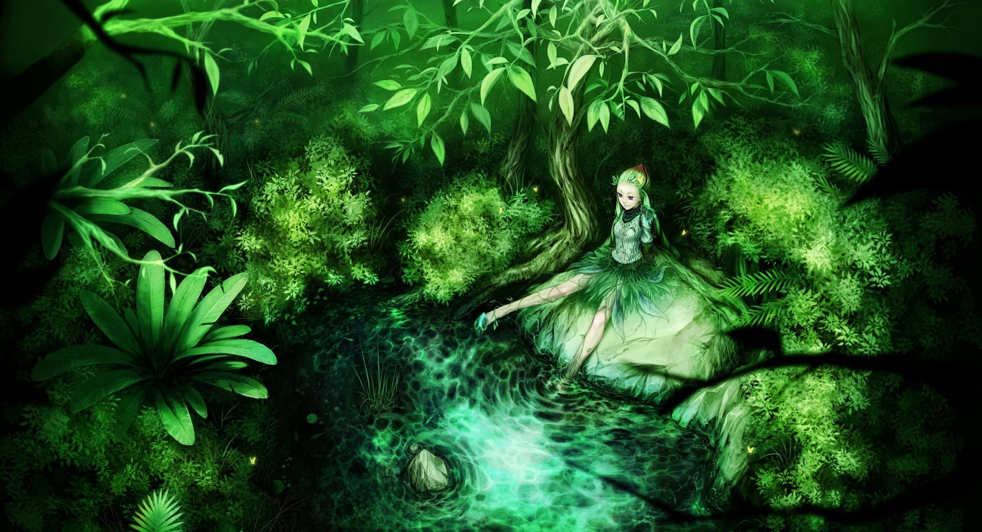 Green Fairy at 1600 x 1200 size wallpapers HD quality