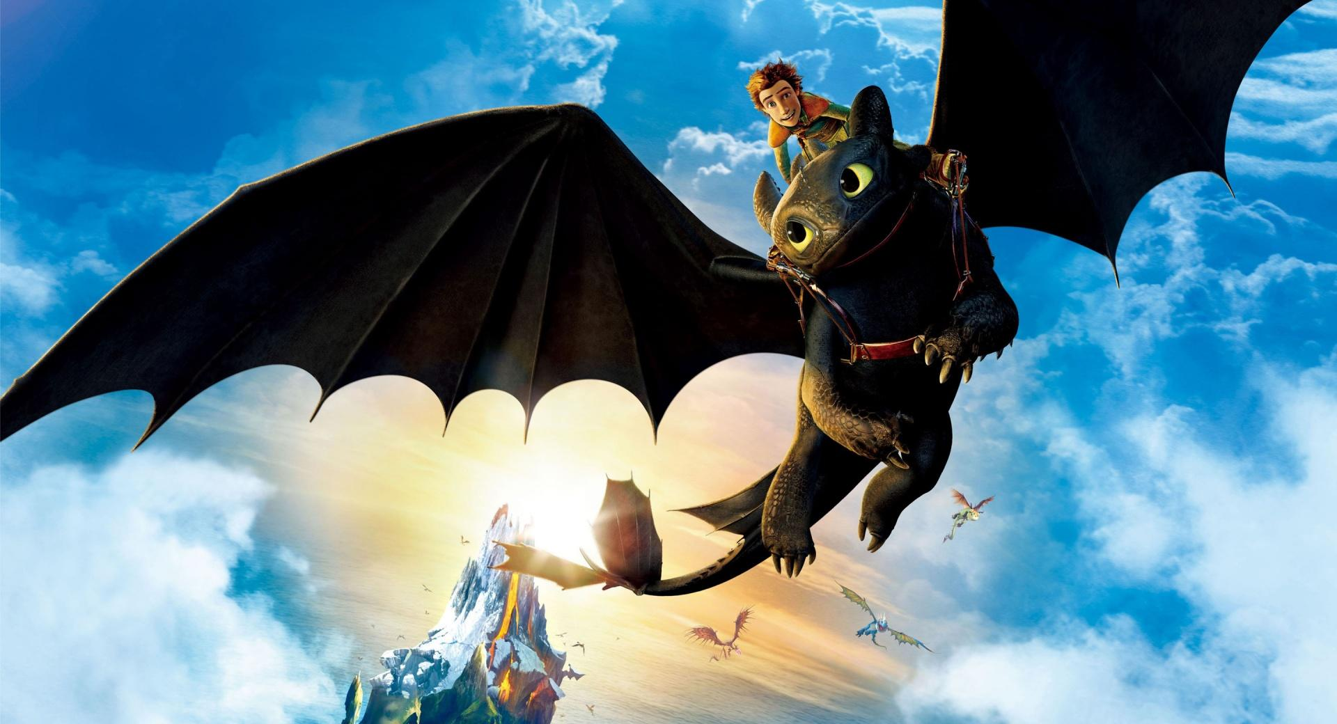 Hiccup and Toothless wallpapers HD quality