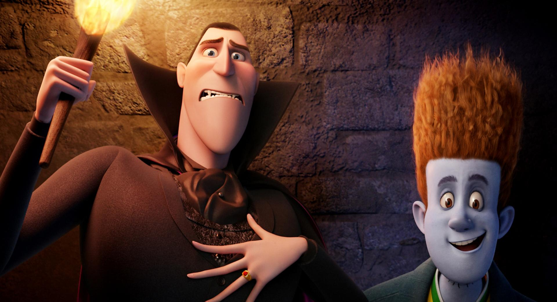 Hotel Transylvania  Dracula and Johnnystein wallpapers HD quality