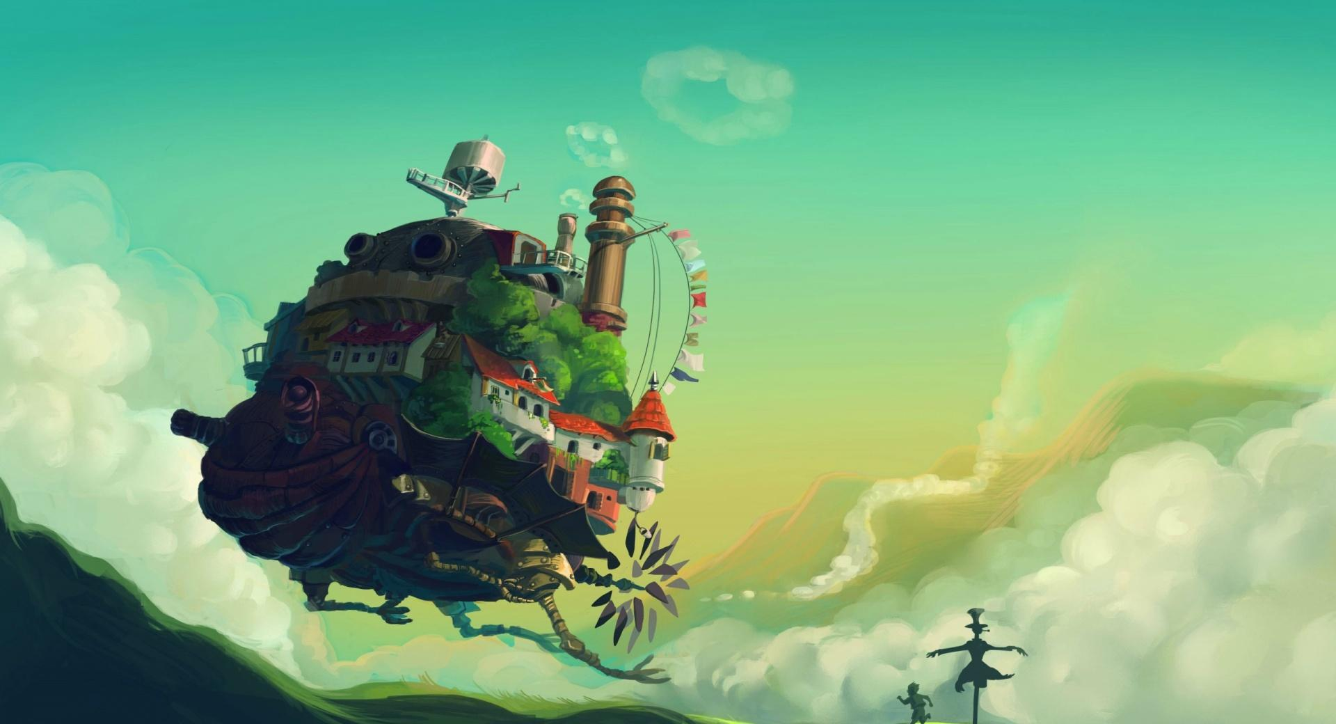 Howls Moving Castle wallpapers HD quality