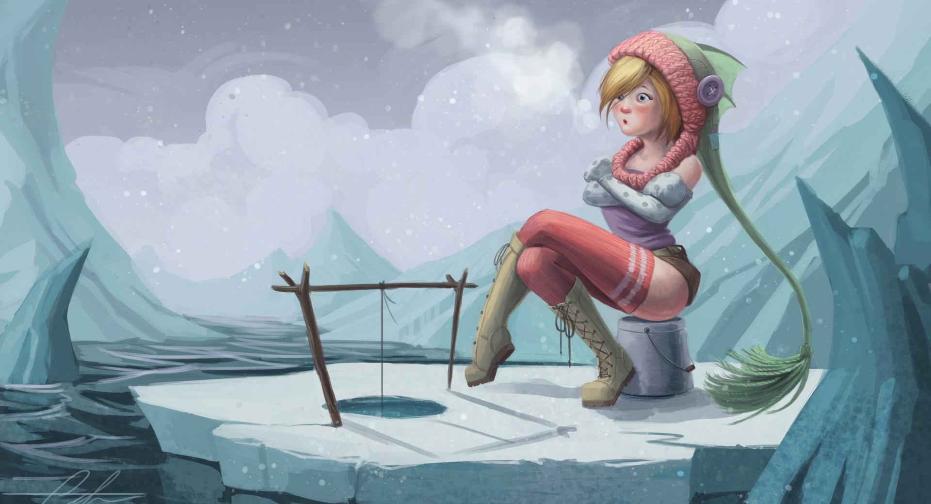 Ice Fishing wallpapers HD quality