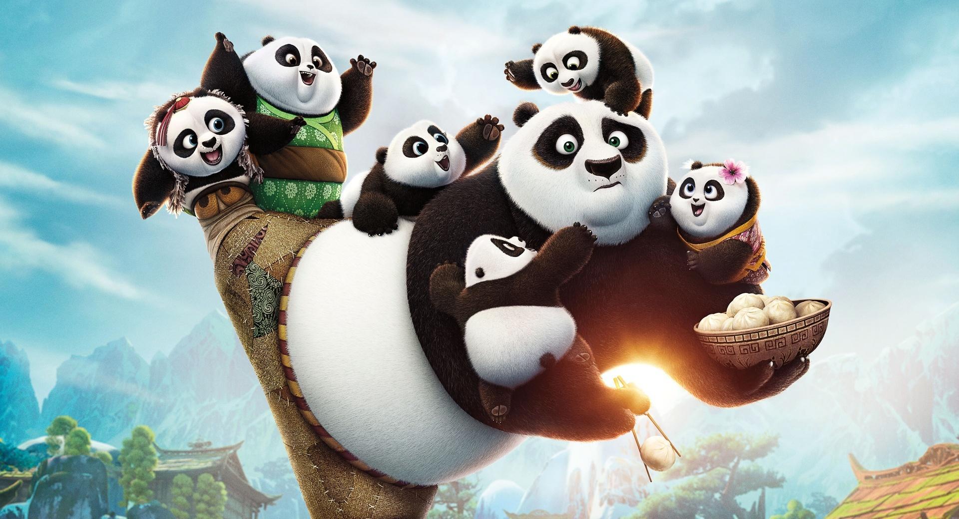Kung Fu Panda 3 2016 wallpapers HD quality