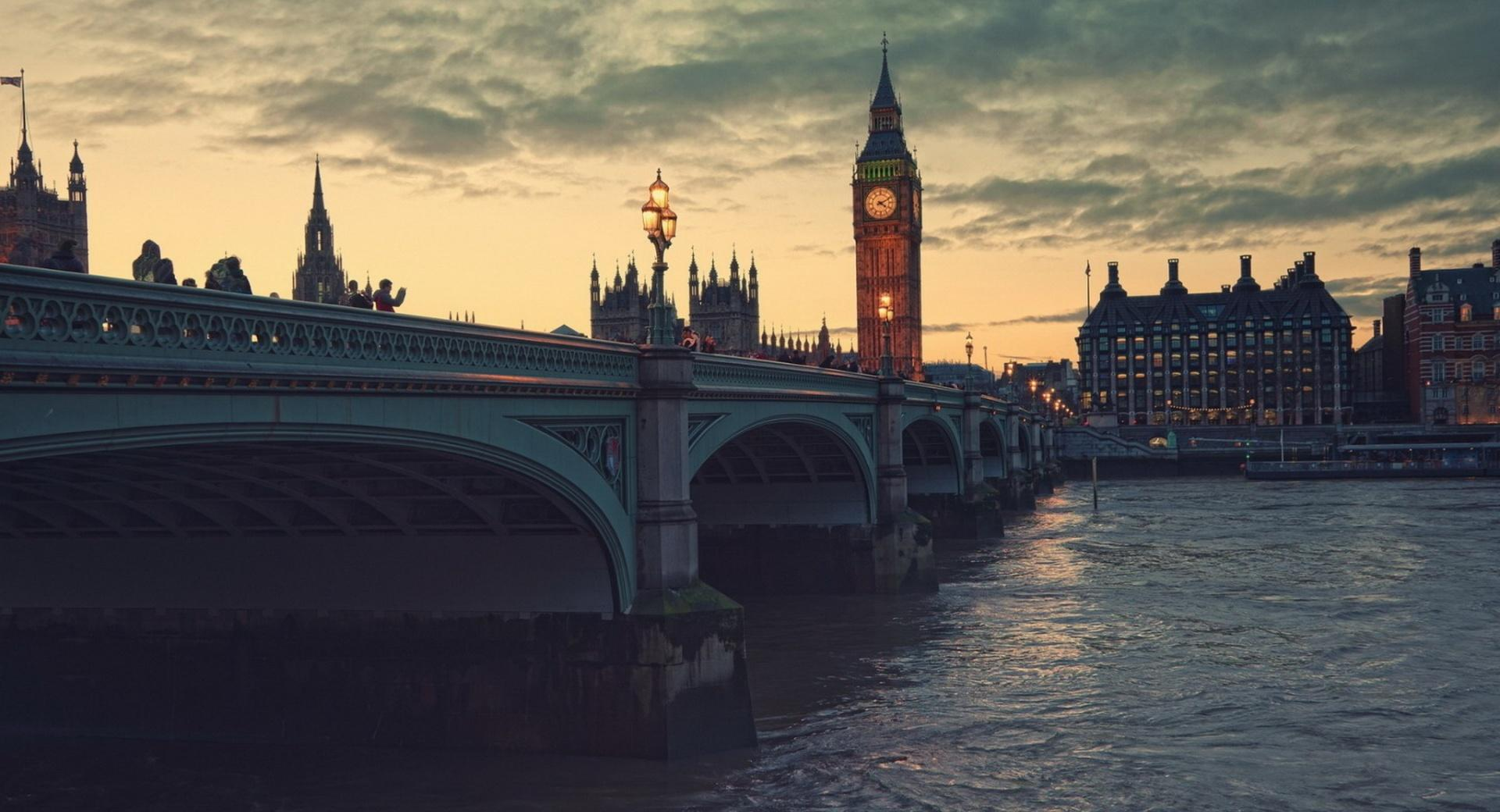 London At Dusk wallpapers HD quality