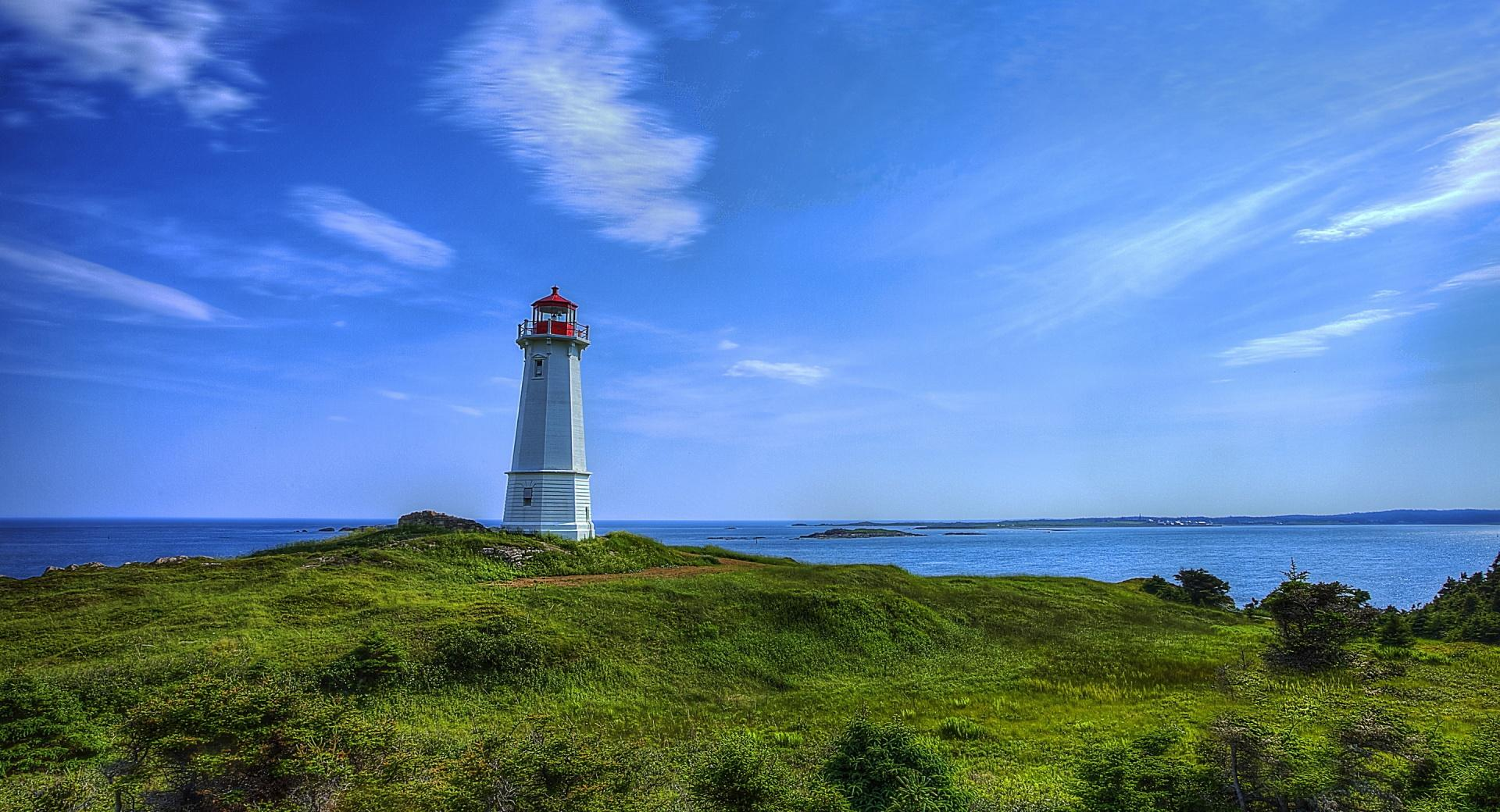 Louisbourg Lighthouse wallpapers HD quality